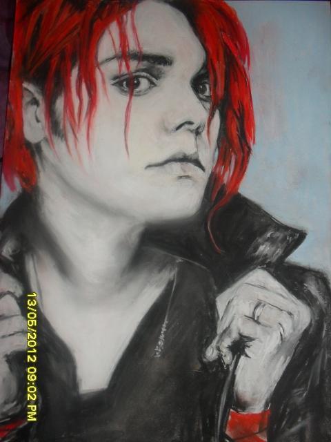 Gerard Way par rebeldiamond